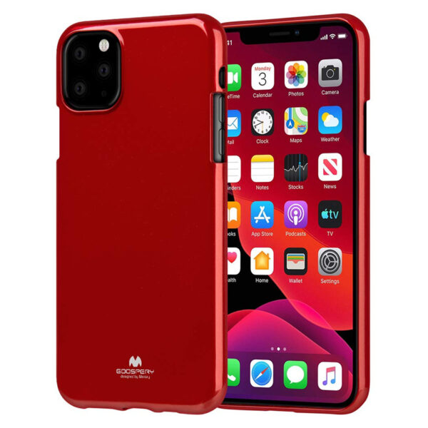 Jelly Cover for iPhone 11 Pro Max Red