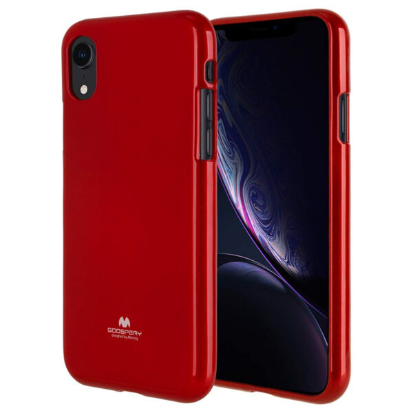 Jelly Cover for iPhone XR Red