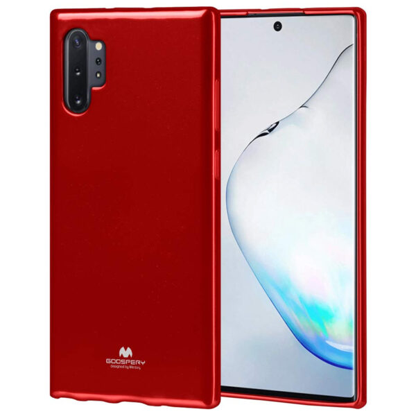 Jelly Cover for Galaxy Note 10 Plus Red