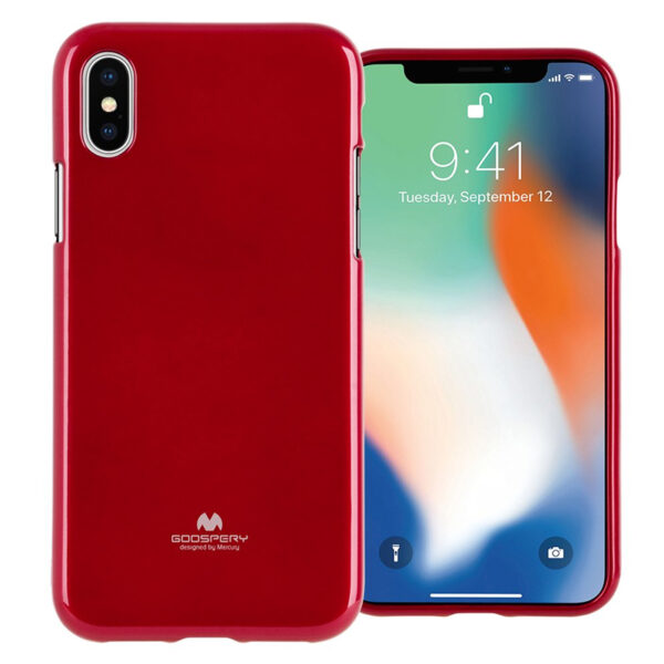 Jelly Cover iPhone XS Max Red