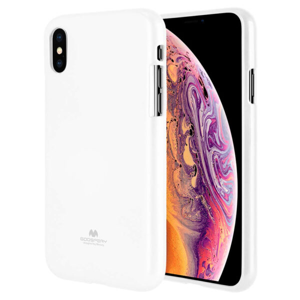 Jelly Cover iPhone X & XS White