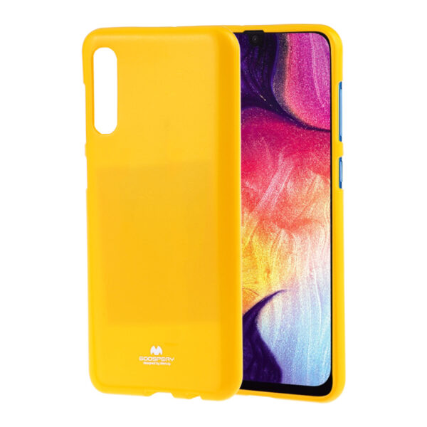 Jelly Cover Galaxy A50 Mustard