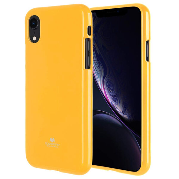 Jelly Cover iPhone XR Mustard
