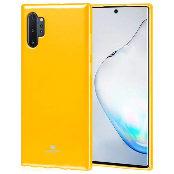 Jelly Cover Galaxy Note 10 Plus Mustard