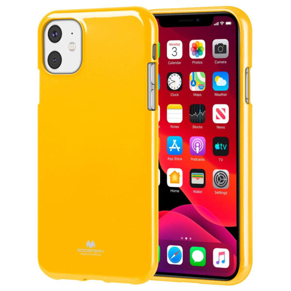 Jelly Cover iPhone 11 Mustard