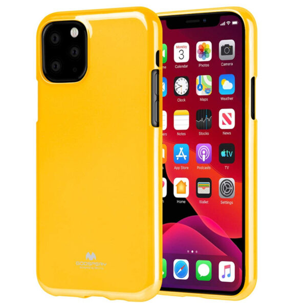 Jelly Cover iPhone 11 Pro Mustard
