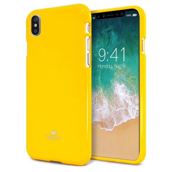 Jelly Cover iPhone XS Max Mustard