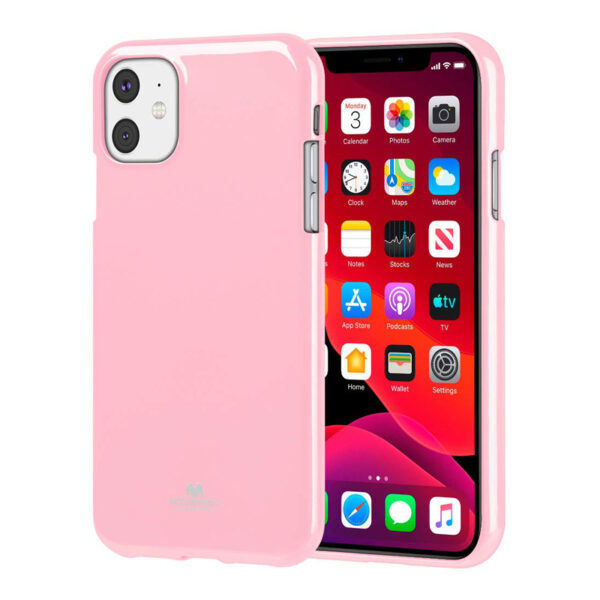 Jelly Cover iPhone 11 Baby Pink