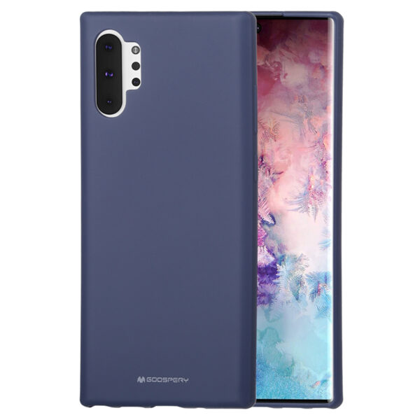 Soft Feeling Cover for Galaxy Note 10 Plus Midnight Blue