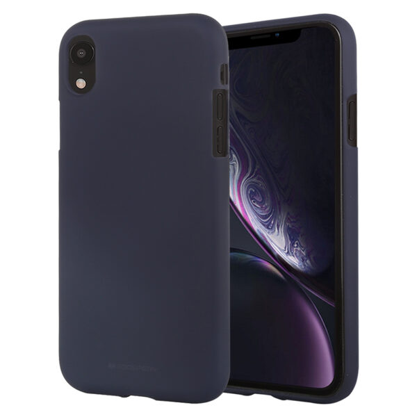 Soft Feeling Cover for iPhone XR Midnight Blue