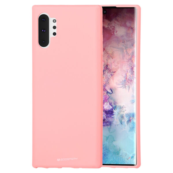 Soft Feeling Cover for Galaxy Note 10 Plus Coral