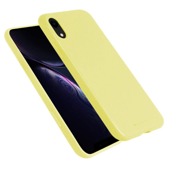 Style Lux Cover iPhone XR Yellow