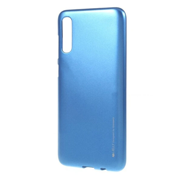 I-Jelly Cover for Galaxy A70 Blue