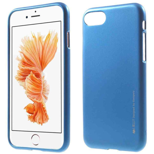 We Love Gadgets I-Jelly Cover for iPhone 8 & 7 Blue