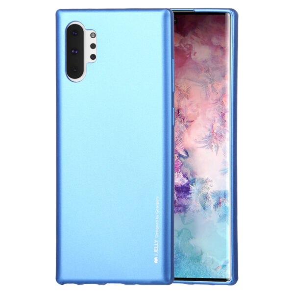 I-Jelly Cover for Galaxy Note 10 Plus Blue