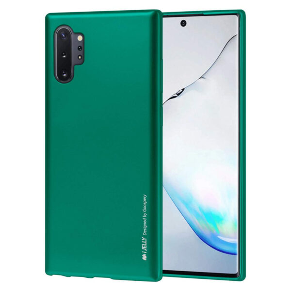 I-Jelly Cover Galaxy Note 10 Plus Emerald Green