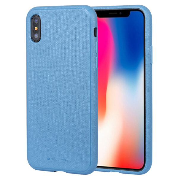 Style Lux Cover iPhone X & XS Blue