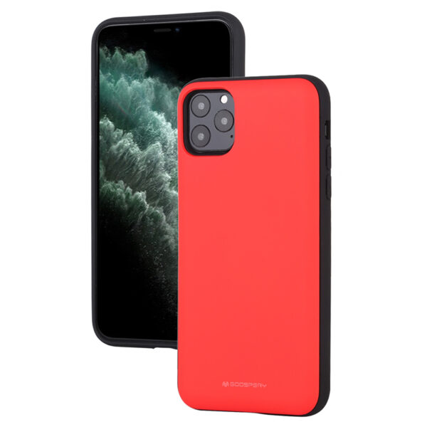 Magnetic Back Card Slot Cover iPhone 11 Pro Red