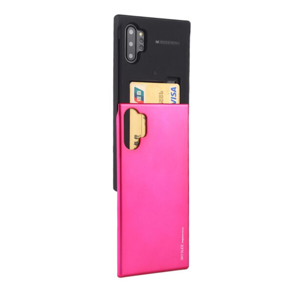 Slide Cover With Card Slot Galaxy Note 10 Plus Hot Pink