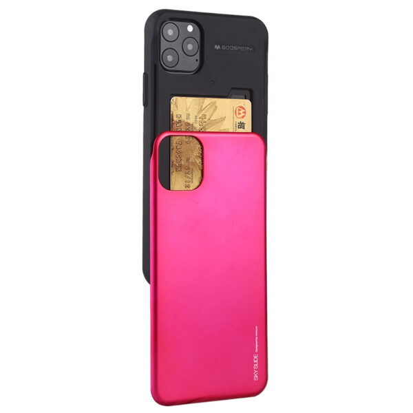 Slide Cover With Card Slot iPhone 11 Pro Max Hot Pink