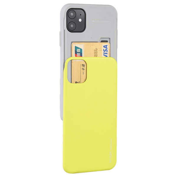 Slide Cover With Card Slot iPhone 11 Lime