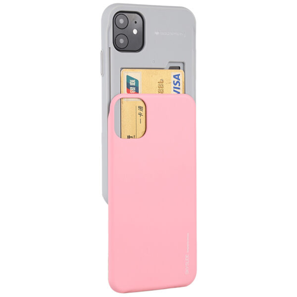 Slide Cover With Card Slot iPhone 11 Baby Pink