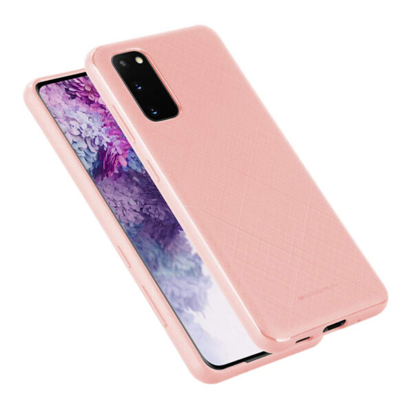 Style Lux Cover Samsung Galaxy S20 Baby Pink