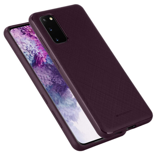 Style Lux Cover Samsung Galaxy S20 Plum