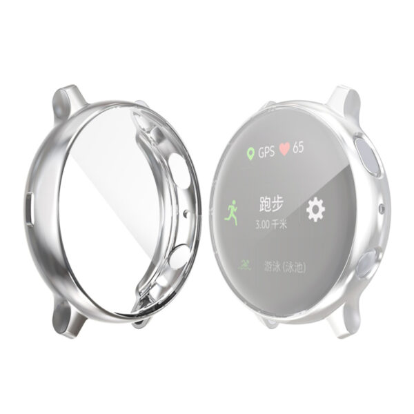 Galaxy Active 2 Watch 40mm Screen Protector Case Silver