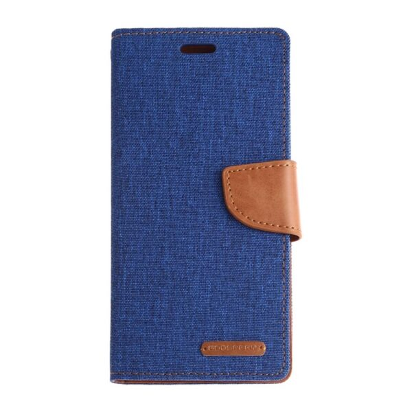 Canvas Diary Cover Galaxy S20 Navy