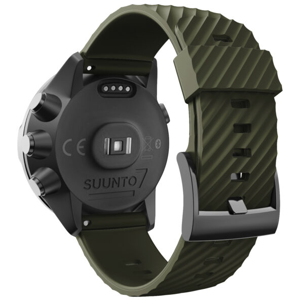 Silicone Sports Band Strap Suunto 7 Army Green
