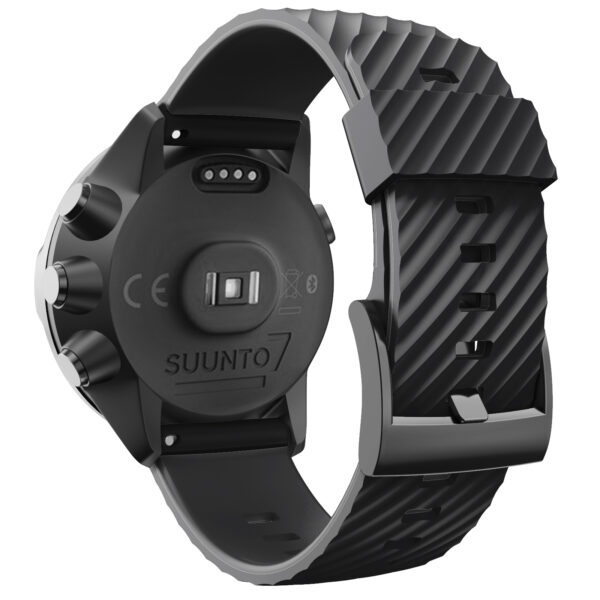 Silicone Sports Band Strap Suunto 7 Black