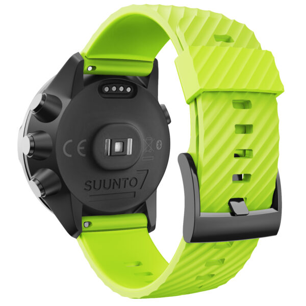 Silicone Sports Band Strap Suunto 7 Green
