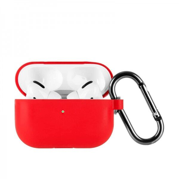 Silicone Case For Apple AirPods Pro Red