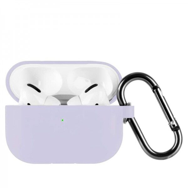 Slim Silicone Case For Apple AirPods Pro Lilac