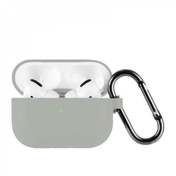 Silicone Case For Apple AirPods Pro Light Grey