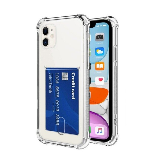 Transparent Cover With Card Slot iPhone