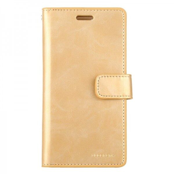 Mansoor Card Holder Flip Cover iPhone 11 Pro Max Gold