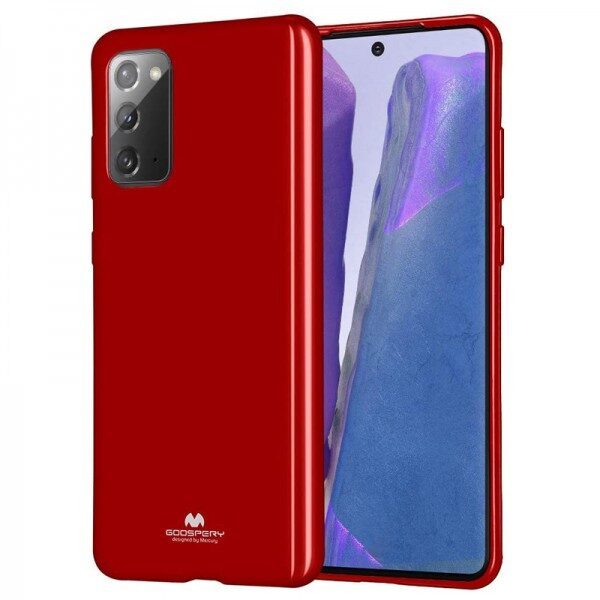 Jelly Cover for Galaxy Note 20 Red