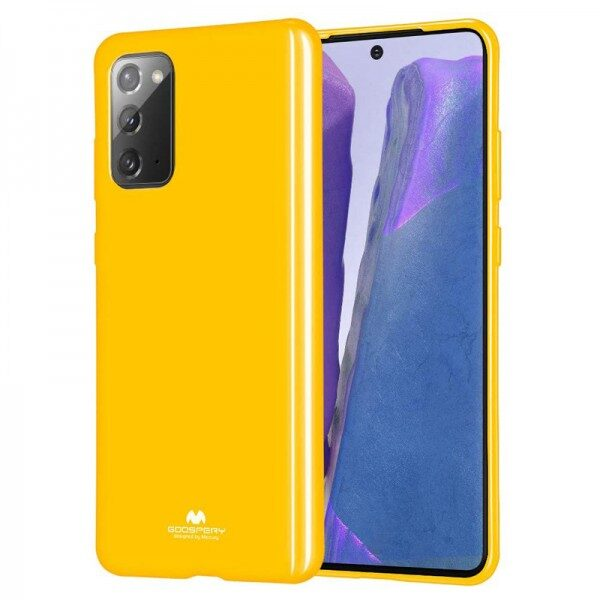 Jelly Cover for Galaxy Note 20 Mustard
