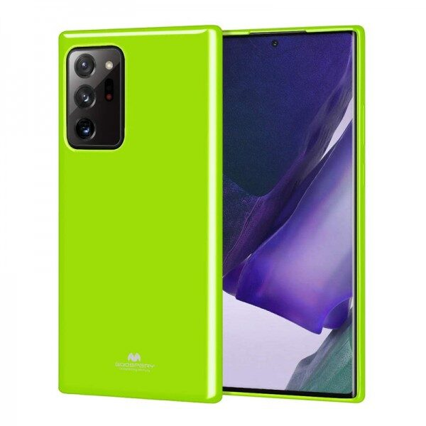 Jelly Cover for Galaxy Note 20 Ultra Lime Green