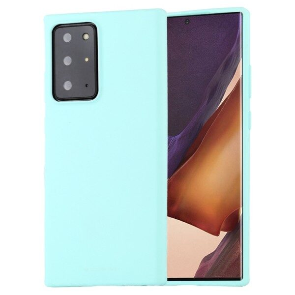 Soft Feeling Cover Galaxy Note 20 Ultra Mint
