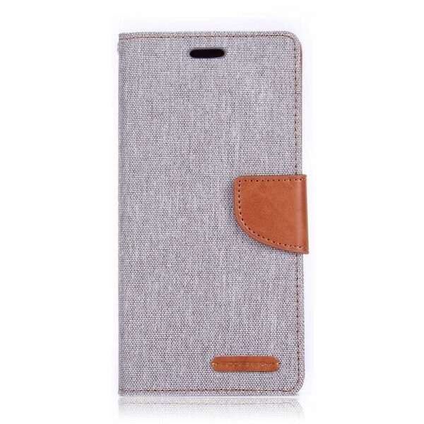 Canvas Diary Cover iPhone 11 Pro Max Grey