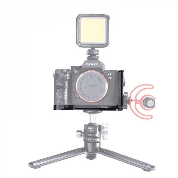 Ulanzi Vlog L Plate for Sony A73/A7R3/A7M3 Camera