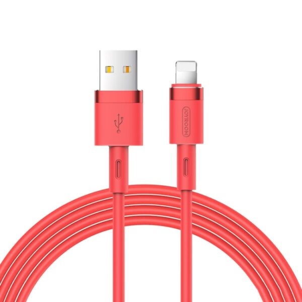 iPhone Charger Lightning Cable Candy Red