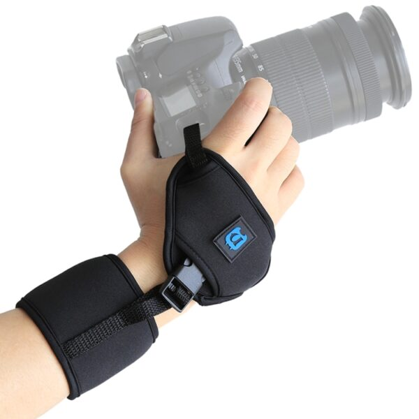 Neoprene Hand Grip Wrist Strap for SLR / DSLR Cameras
