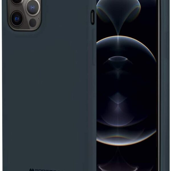 "Soft Feeling Cover iPhone 12 Pro Max 6.7"" Midnight Blue"
