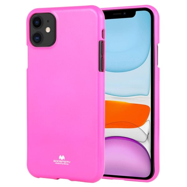 "Jelly Cover iPhone 12 Mini 5.4"" Lumo Pink"