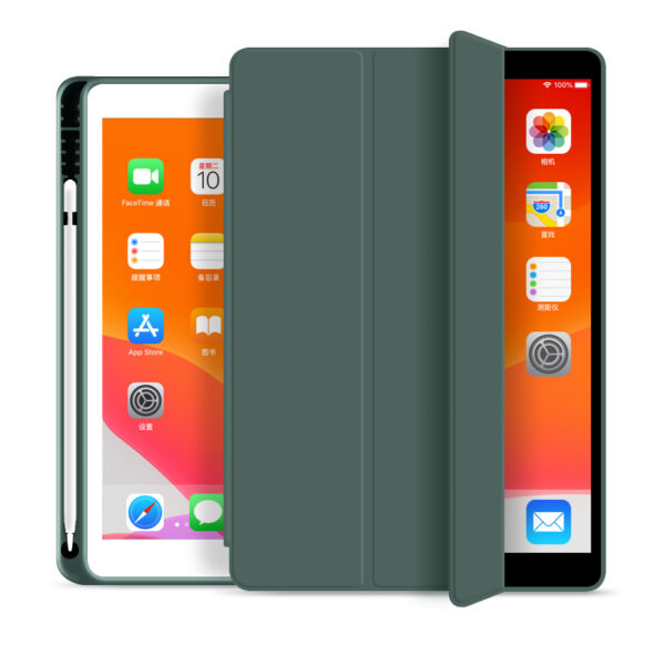 Flip Cover With Pen Holder For iPad Air 4 2020 10.9 Inch Cactus