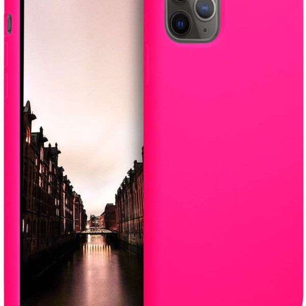 Jelly Cover iPhone 12 Lumo Pink